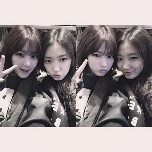 Park Shin Hye khoe hình thân thiết với cô bạn đồng nghiệp cùng hợp tác trong phim Pinocchio - Lee Yoo Bi.