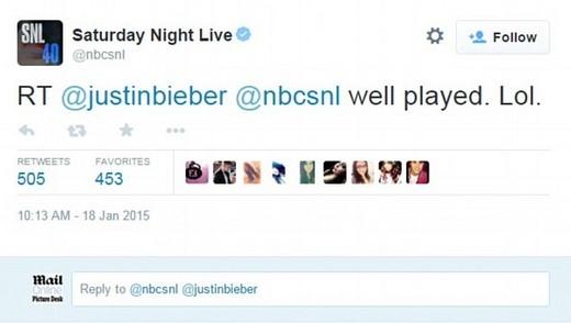 Cuộc đời của Justin Bieber bị đem ra chế nhạo