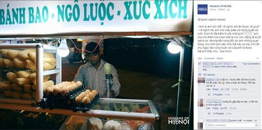 Dân mạng phát sốt với anh bán xôi dễ thương nhất Hà Nội