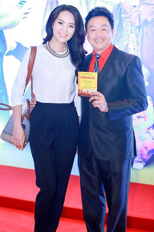 Diễn viên Chí Tài và Á hậu Thụy Vân - Tin sao Viet - Tin tuc sao Viet - Scandal sao Viet - Tin tuc cua Sao - Tin cua Sao