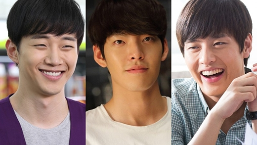 Bộ ba trai đẹp Kim Woo Bin, Kang Ha Neul, Junho đại náo màn ảnh rộng