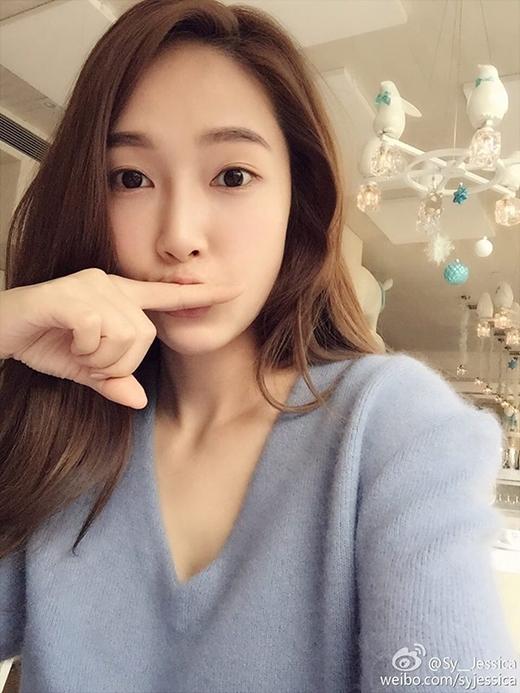 Jessicachiêu đãi fan bằng hình ảnh tự sướng cực dễ thương.