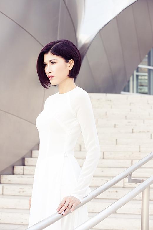 Trang Lạ thuộc nhóm người mẫu cá tính của làng thời trang Việt.