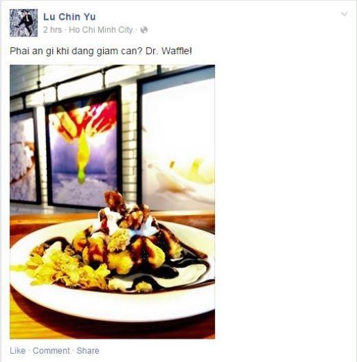 Chủ đề đồ ăn lại tiếp tục được các hot teen quan tâm khi Harry Lu giới thiệu món ăn giúp giảm cân của mình.
