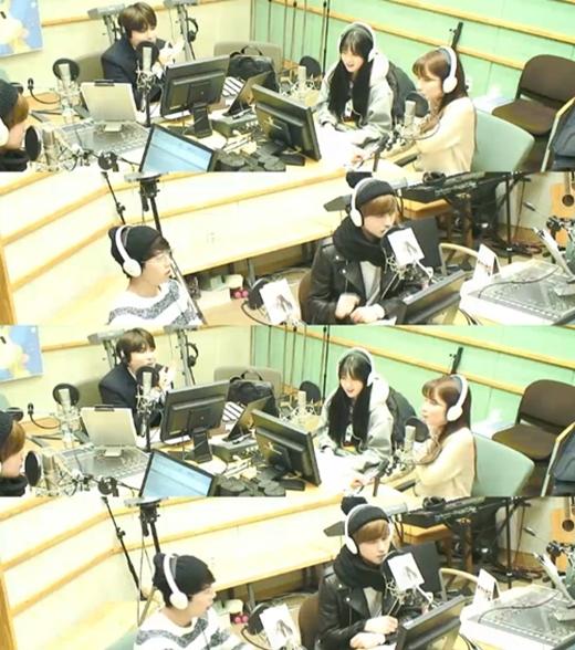 U-Kiss và Rainbow tham gia chương trình Kiss The Radio