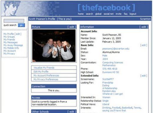 Lật lại hình ảnh từ 10 năm trước của trang xã hội lớn nhất thế giới