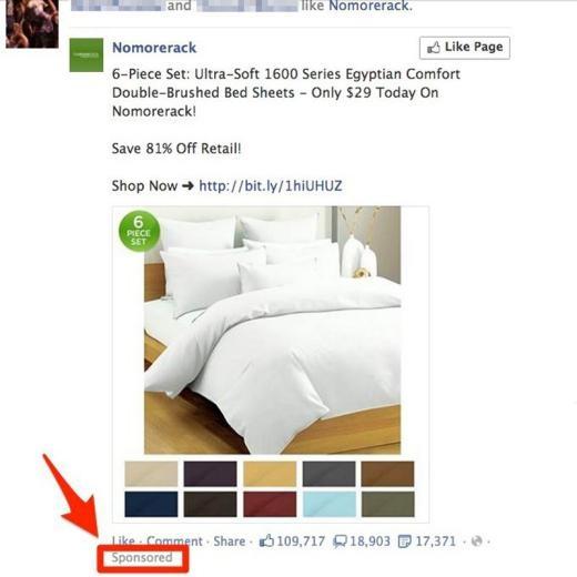 Tháng 1/2012, Facebook bắt đầu cho đăng quảng cáo trên trang chủ.