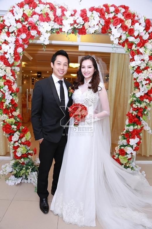 Vợ chồng Trúc Diễm hôn nhau đắm đuối suốt buổi tiệc cưới - Tin sao Viet - Tin tuc sao Viet - Scandal sao Viet - Tin tuc cua Sao - Tin cua Sao