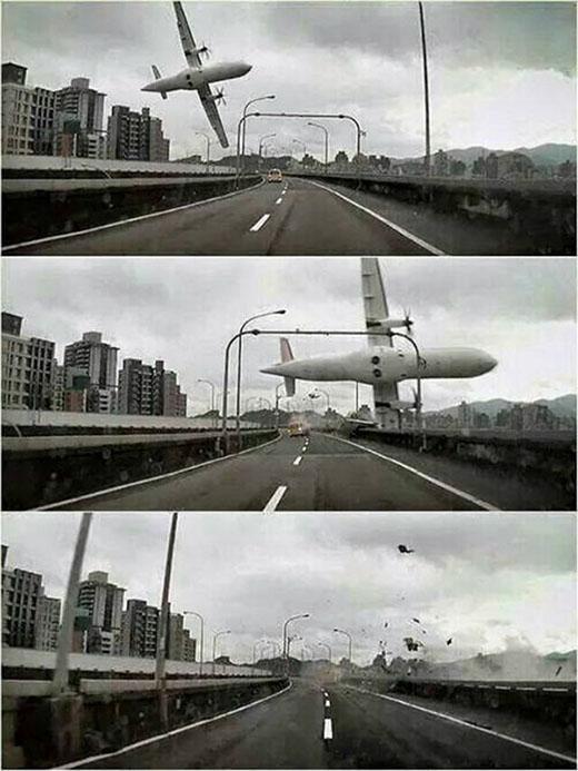 Vụ máy bay Đài Loan rơi: Thi thể phi công vẫn nắm chặt cần lái