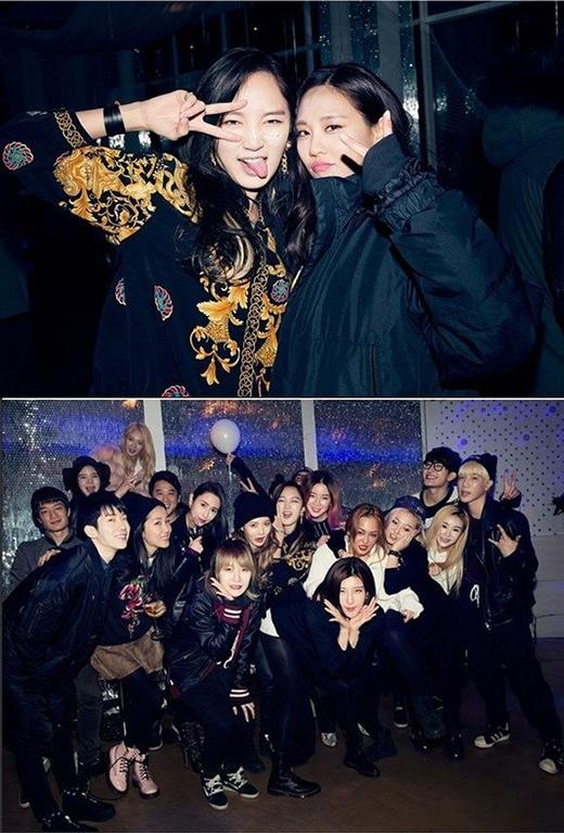 Tiệc sinh nhật của Jia không có Suzy