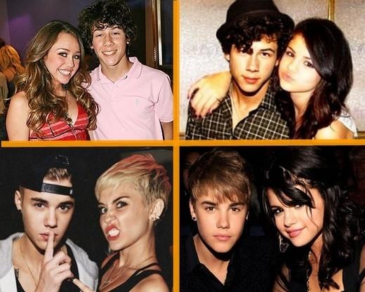 Nick Jonas muốn Miley Cyrus và Selena Gomez làm lành với nhau