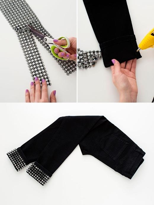 Tuyệt chiêu F5 cho quần jean cũ cực phong cách