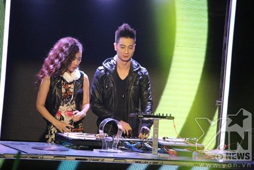 DJ Trang Moon và SlimV. - Tin sao Viet - Tin tuc sao Viet - Scandal sao Viet - Tin tuc cua Sao - Tin cua Sao