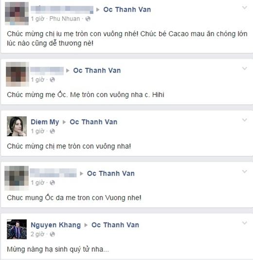 Ốc Thanh Vân đã sinh nhóc tì thứ 3