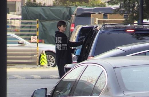 Chae Rim và chồng xuất hiện tại phòng khám sản
