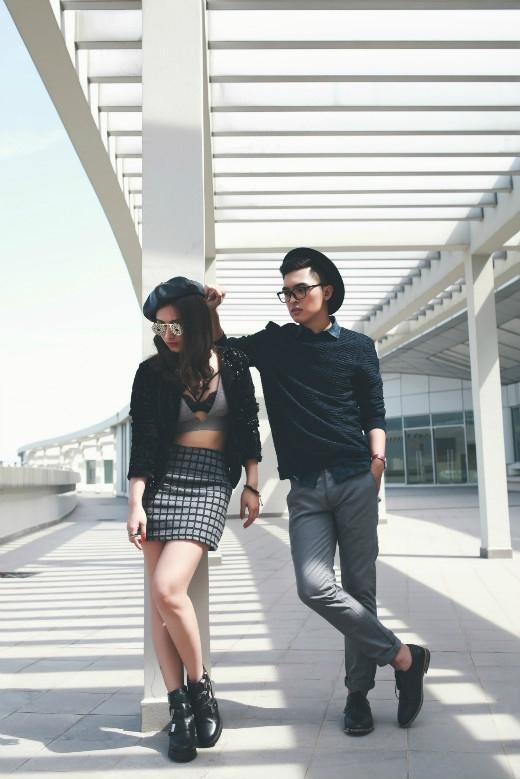 Công Văn Dương kết hợp cùng Emmi Mimi trong bộ ảnh thời trang cuối năm