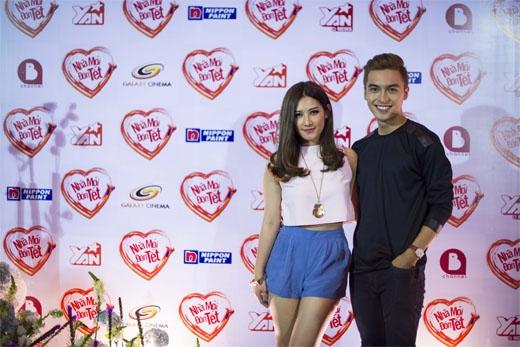Emmi và Công Văn Dương xuất hiện tình tứ cùng nhau tại sự kiện