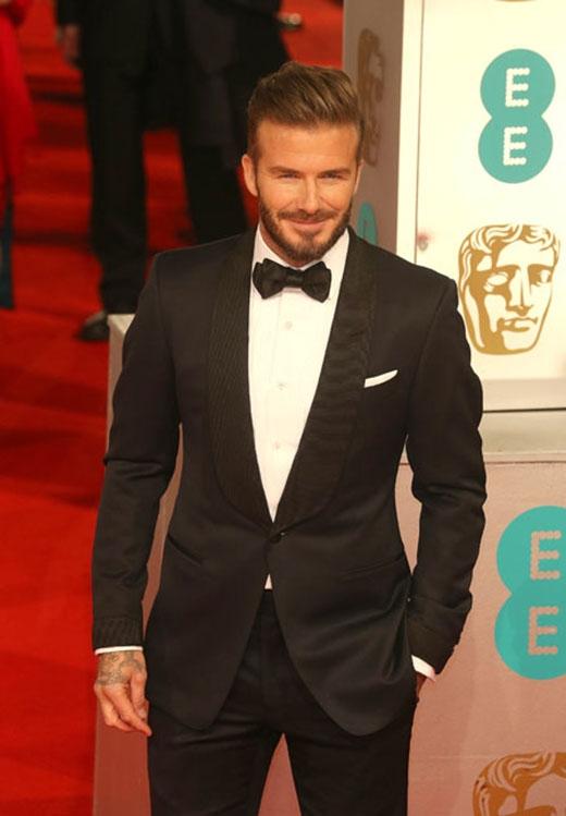 David Beckham lịch sự và quyến rũ trong sự kiện