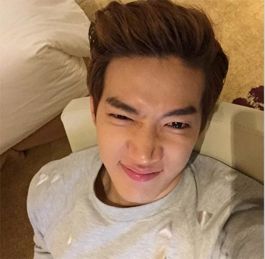 Jun.K làm mặt xấu nhưng vô cùng dễ thương