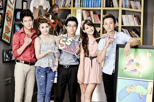 5 diễn viên quen thuộc của 5S Online: Bê Trần, Vân Navy, Mạnh Quân, Chi Pu và Anh Vũ. - Tin sao Viet - Tin tuc sao Viet - Scandal sao Viet - Tin tuc cua Sao - Tin cua Sao
