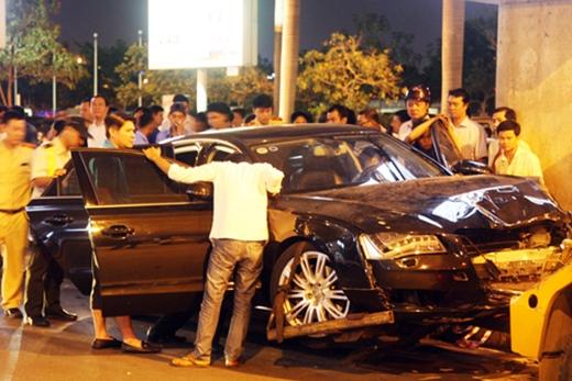 Vụ xe Hà Hồ gây tai nạn: Tài xế không say xỉn
