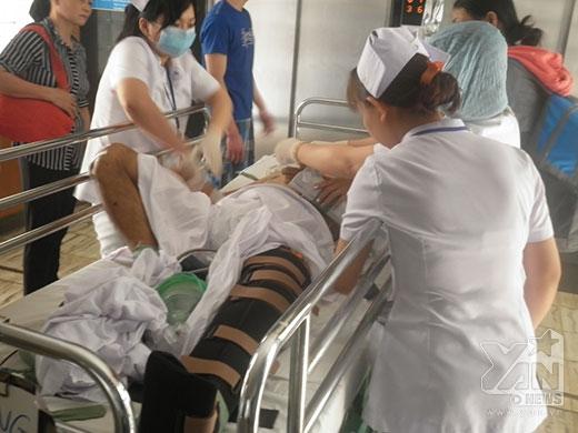 Xe Hà Hồ gây tai nạn: Chia sẻ từ vợ nạn nhân đang trong tình trạng nguy kịch