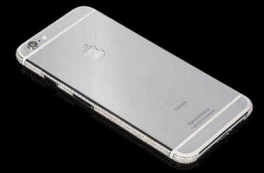Sốc với những chiếc iPhone 6 đính kim cương trị giá 70 tỷ đồng