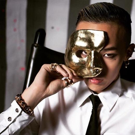G-Dragon bí ẩn khoe hình đeo mặt nạ che nửa mặt nhưng không giấu được vẻ cá tính.