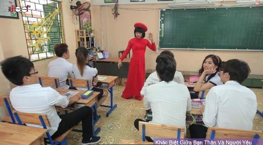 Lớp học cô giáo Khánh cực nhắng chào xuân