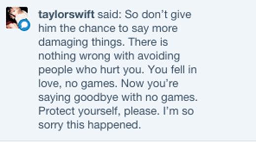 """Taylor Swift trực tiếp làm """"quân sư tình yêu"""" cho fan"""