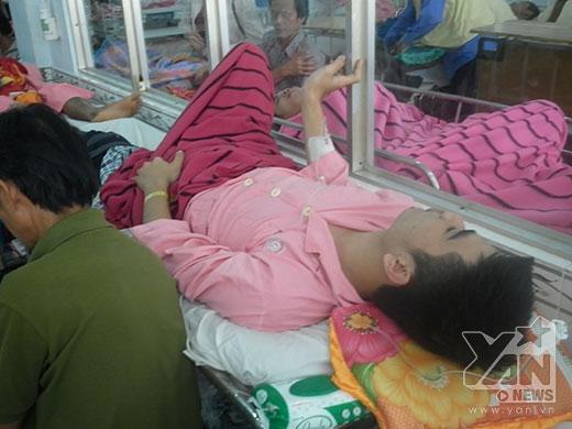 Nạn nhân vụ xe Hà Hồ gây tai nạn bị yêu cầu xuất viện dù vẫn hay mê sảng