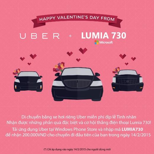 4 lí do bạn nên yêu cầu ngay UberHUGS cho ngày Lễ tình nhân