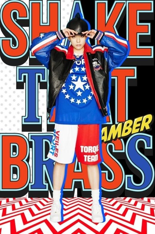 """Amber f(x): """"Tiền bối Taeyeon là nhất"""""""