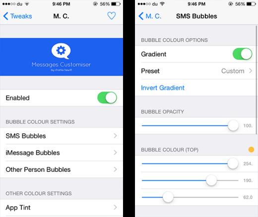 [Tết 2015] Mẹo tùy chỉnh giao diện tin nhắn trên iOS 8 cực dễ thương