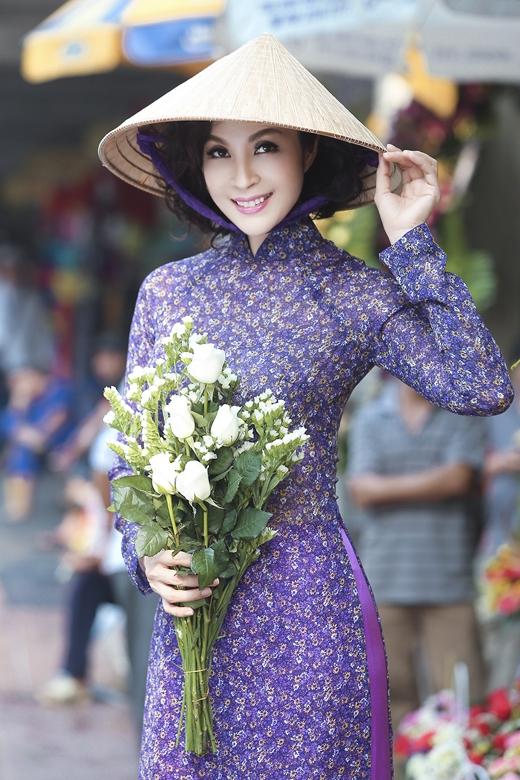 Áo dài nón lá, vẻ đẹp truyền thống của Việt Nam. - Tin sao Viet - Tin tuc sao Viet - Scandal sao Viet - Tin tuc cua Sao - Tin cua Sao
