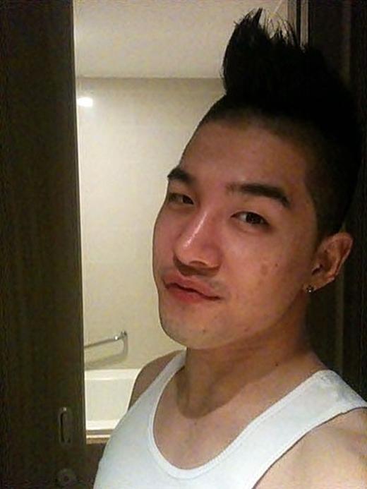 ...anh chàng cá tính của Big Bang - Taeyang cũng không ngoại lệ