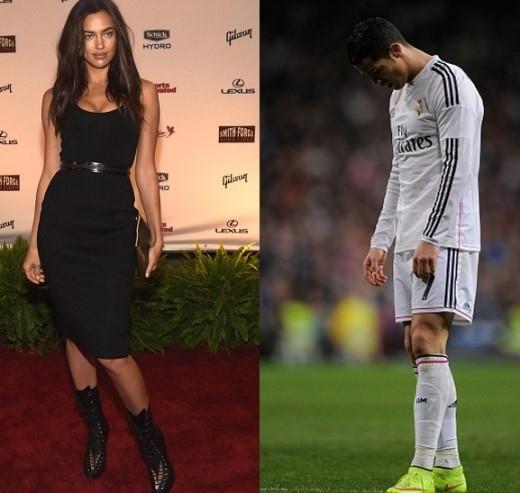 Trong khi Irina đang vùi đầu vào công việc để quên đi tất cả thì Ronaldo lại liên tiếp dính scandal cả trong và ngoài sân cỏ.