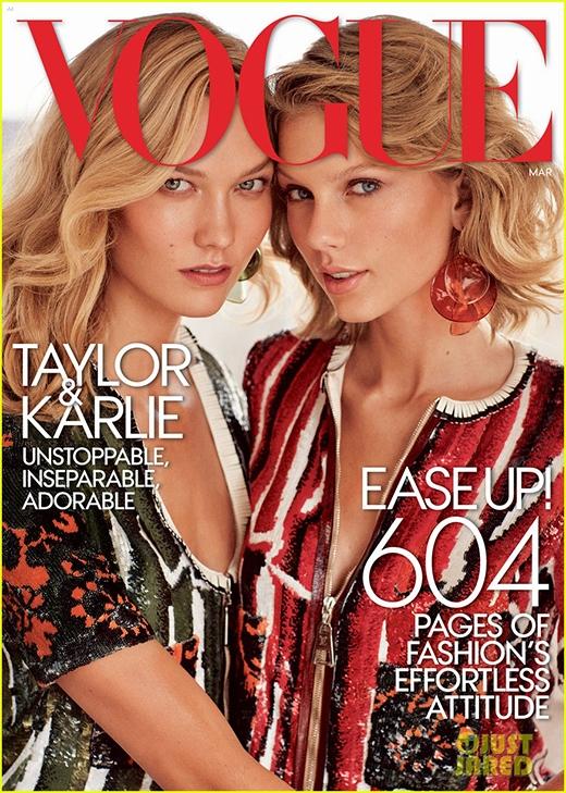 """[Tết 2015] Fan thích thú xem Taylor Swift """"vật lộn"""" với bạn thân Karlie Kloss"""