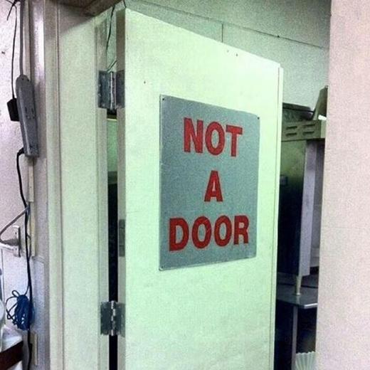 Không phải cánh cửa, vậy thì đây là gì?