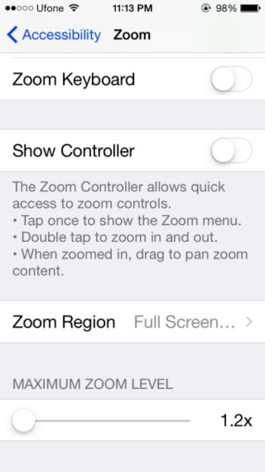 Mẹo giảm độ sáng màn hình iPhone xuống thấp hơn giới hạn cho phép