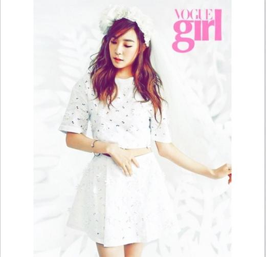 Tiffany khoe hình mới trên tạp chí cực đẹp khiến fan ngất ngây