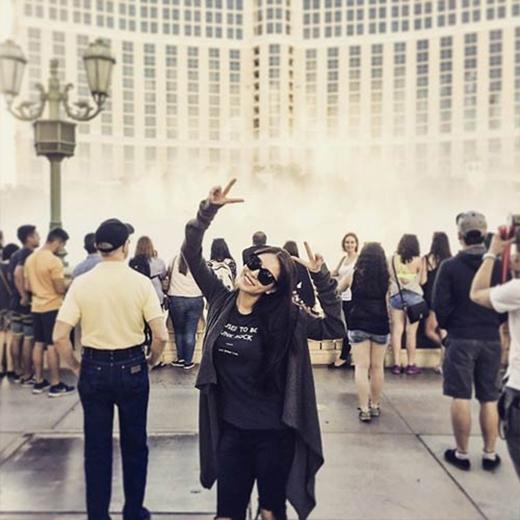 BoA thích thú khi được đến Las Vegas