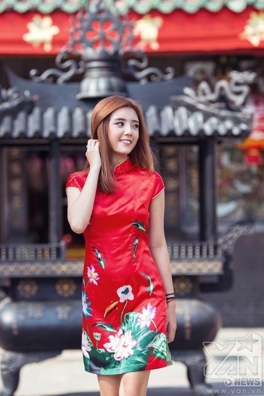 Ngỡ ngàng với vẻ đẹp rạng ngời của Lâm Á Hân