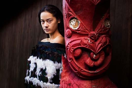 Đền Maori, New Zealand