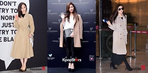 Các sao Hàn đang mê mẩn xu hướng thời trang nào