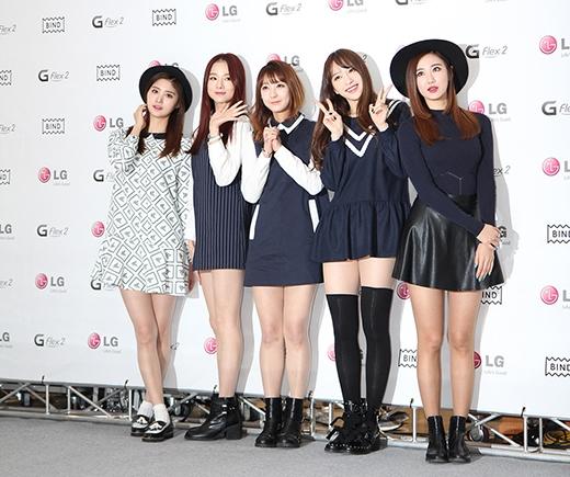 5 cô gái nhóm EXID