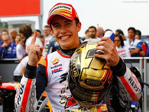 Tay đua trẻ Marquez đang thống trị đường đua Moto GP