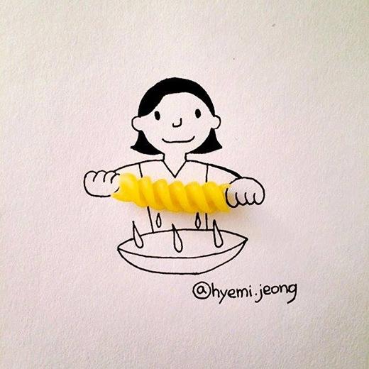 Sợi mỳ pasta