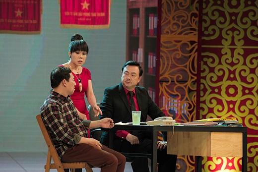 Việt Hương và Chí Tài làm khách mời.