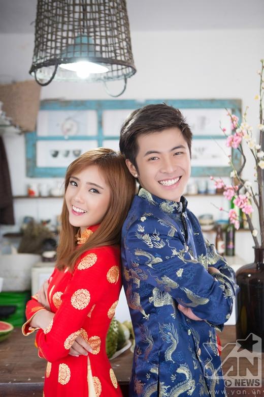 [Tết 2015] Gin Tuấn Kiệt và Lâm Á Hân đại náo nhà bếp 30 Tết